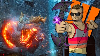 der eisendrache void purple bow quest part 1 black ops 3 zombies funny moments and fails