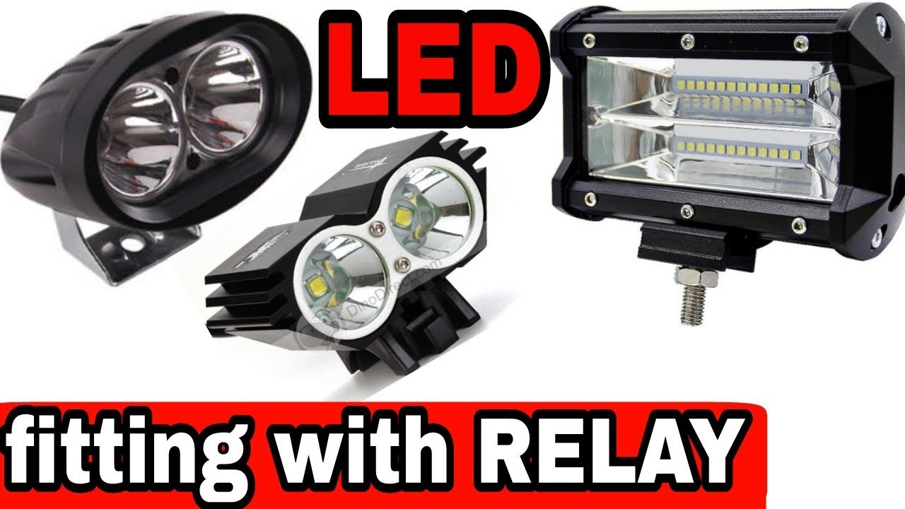 How To Install Led With Relay Youtube