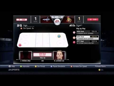 NHL 15 GM Mode w/ Washington Capitals Ep. #32 (Round 3 Of Year 5 - Ottawa Senators)