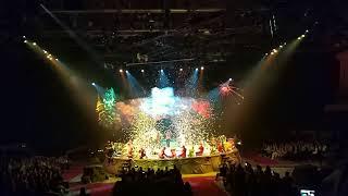 Цирк Дю Солей в Москве. Шоу OVO. Артисты на поклонах
