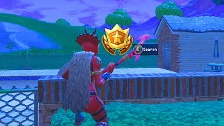 Week 7 SECRET Battle Star Location! Fortnite Week 7 Road Trip Battle Star Location (Season 5 Week 7)