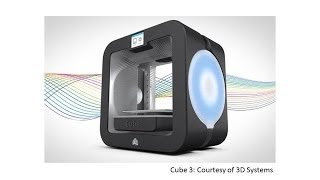 3D Systems Unveils 2 New Printers For CES 2014