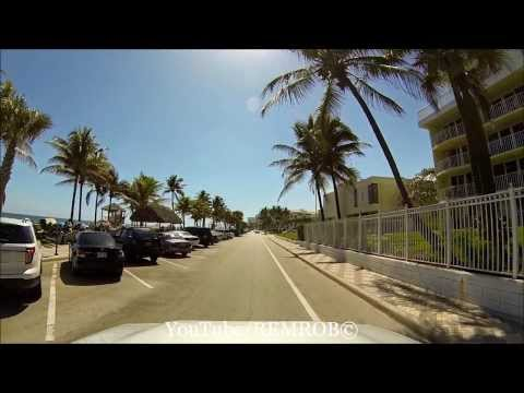 Driving Deerfield Beach, Florida