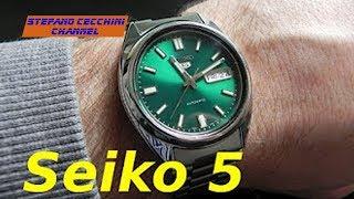 VLOG N 24 Seiko 5 SNK447K - Recensione ITA