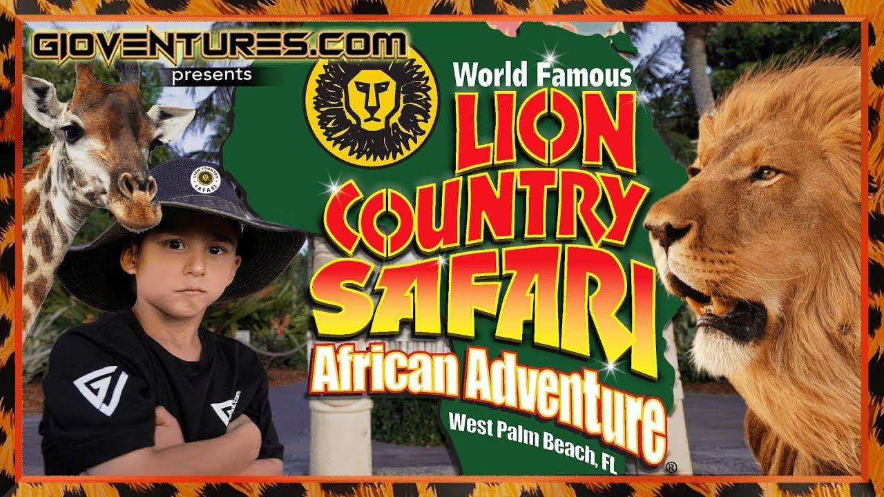 Lion Country Safari Drive Thru
