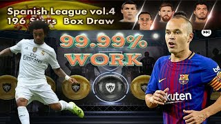 How to get Black Ball in Spanish League vol.4 Box Draw || PES 18 mobile ||
