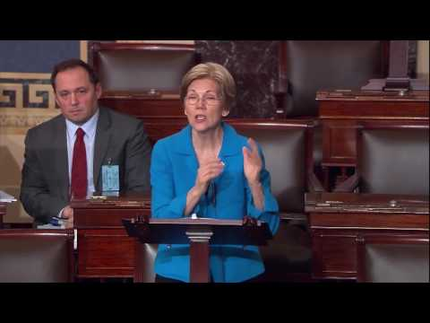 Senator Elizabeth Warren's Floor Speech on Judge Gorsuch's Confirmation Vote