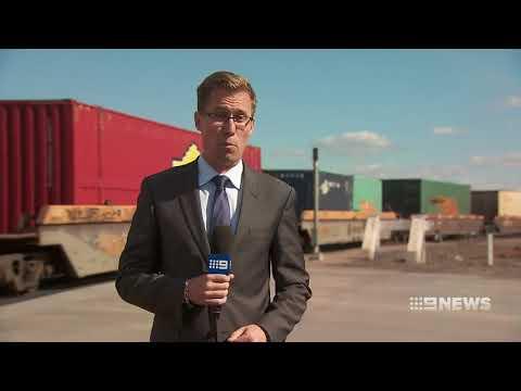 Shuttle Freight Train Service [9News • August 20 2017]