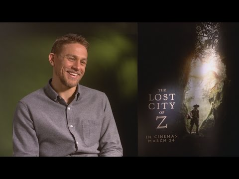 Charlie Hunnam 'humbled' to play Tom Holland's dad in The Lost City of Z