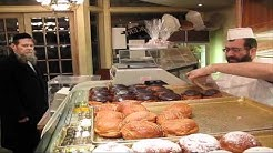 Chanukah Donuts at Weiss Kosher Bakery
