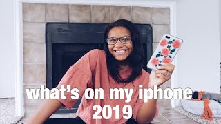 WHATS ON MY IPHONE 2019 | editing apps + more!