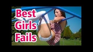 FUNNY GIRLS FAILS COMPILATION 2018