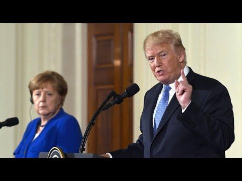 """Trump zu Merkel: """"Wir kriegen Euch schon noch"""""""