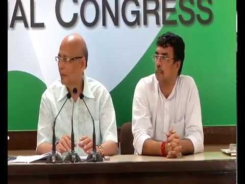 AICC Press Briefing By Abhishek Singhvi at Congress HQ, July 28, 2017