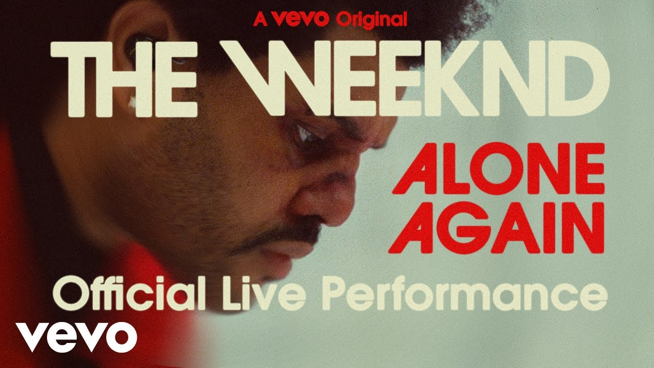 The Weeknd - Alone Again (Official Live Performance) | Vevo