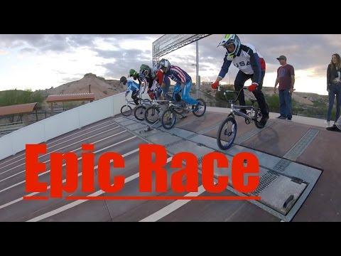 Teaching my friends how to Race BMX! Part 1