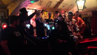 MC Lynchy @ The Holy Cow : Bump & Grind 2014 Freestyle