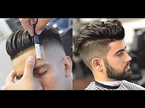 New Style How To Haircut Longer Separated Pompadour Modern Cut