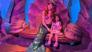Sally Meets Disney Princesses in real life!