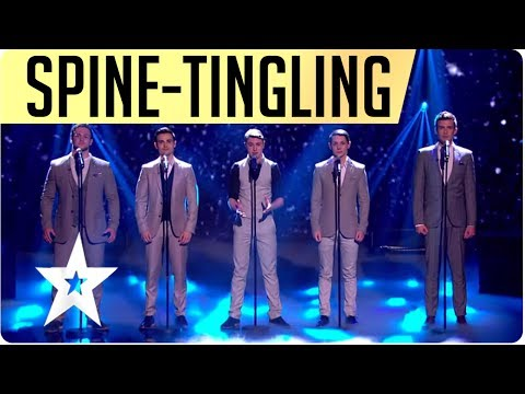 Spine-tingling, Britain's Got Talent winning performance, Collabro