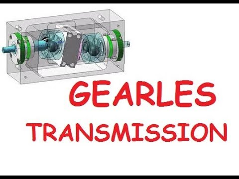 Gearless Transmission Mechanical Automobile Project | gearless transmission advantages