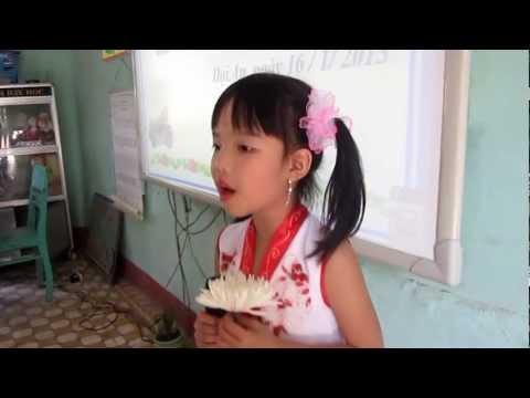 Trúc Chi- 1D Trường TH Nguyễn Công Sáu thi Kể chuyện theo sách