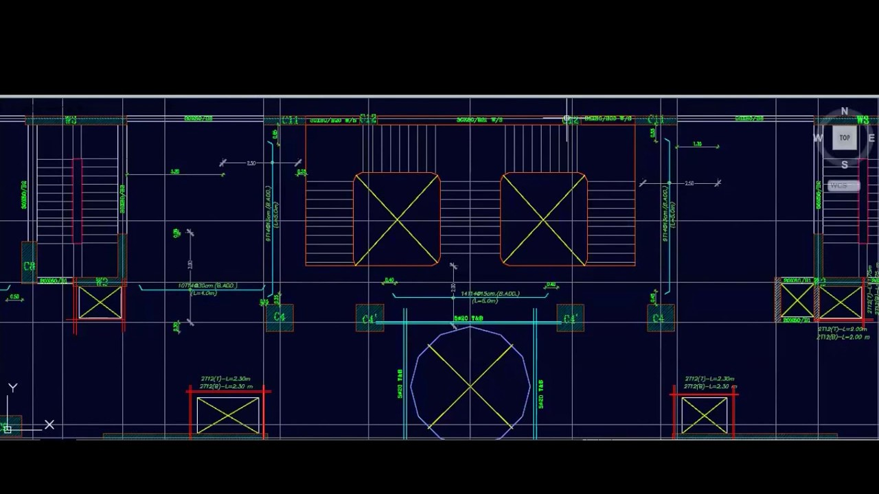 07 Flat Slab Shop Drawing Reinforcement around openings الفواتير