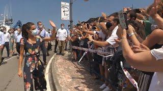 Los Reyes reciben un baño de masas en Cantabria