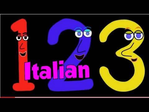 Numbers Song In Italian Canzone Dei Numeri