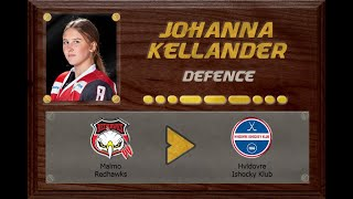 Johanna Kellander - Malmö Redhawks to Hvidovre Ishockey Klub | Stand Out Sports Client Hall of Fame