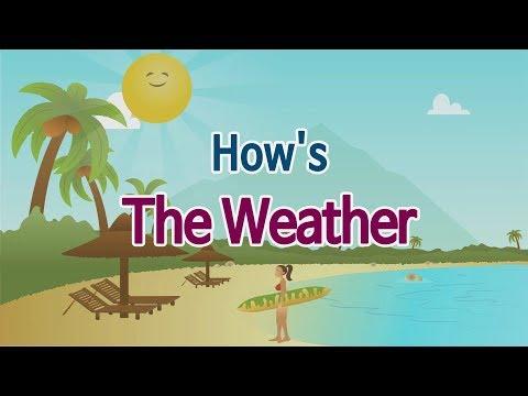 [이즈뮤직 영어동요] How's The Weather (날씨가 어