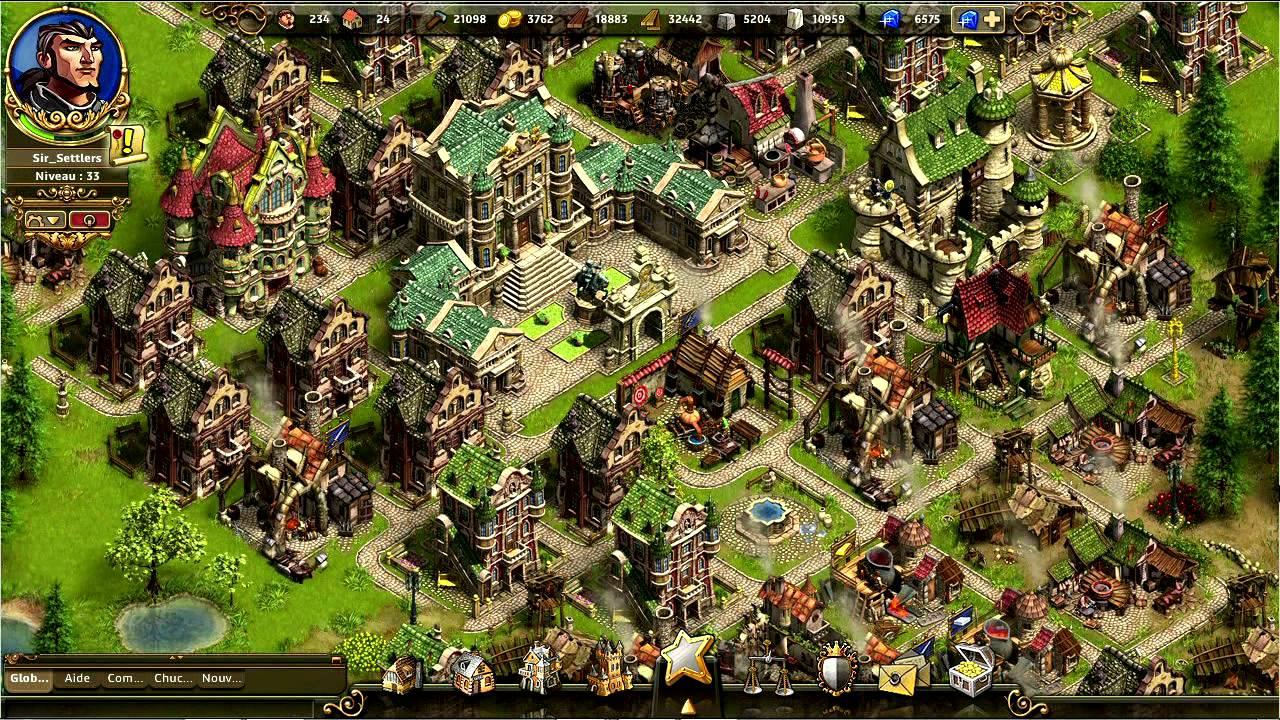 The Settlers Online   Gameplay Trailer [FR]