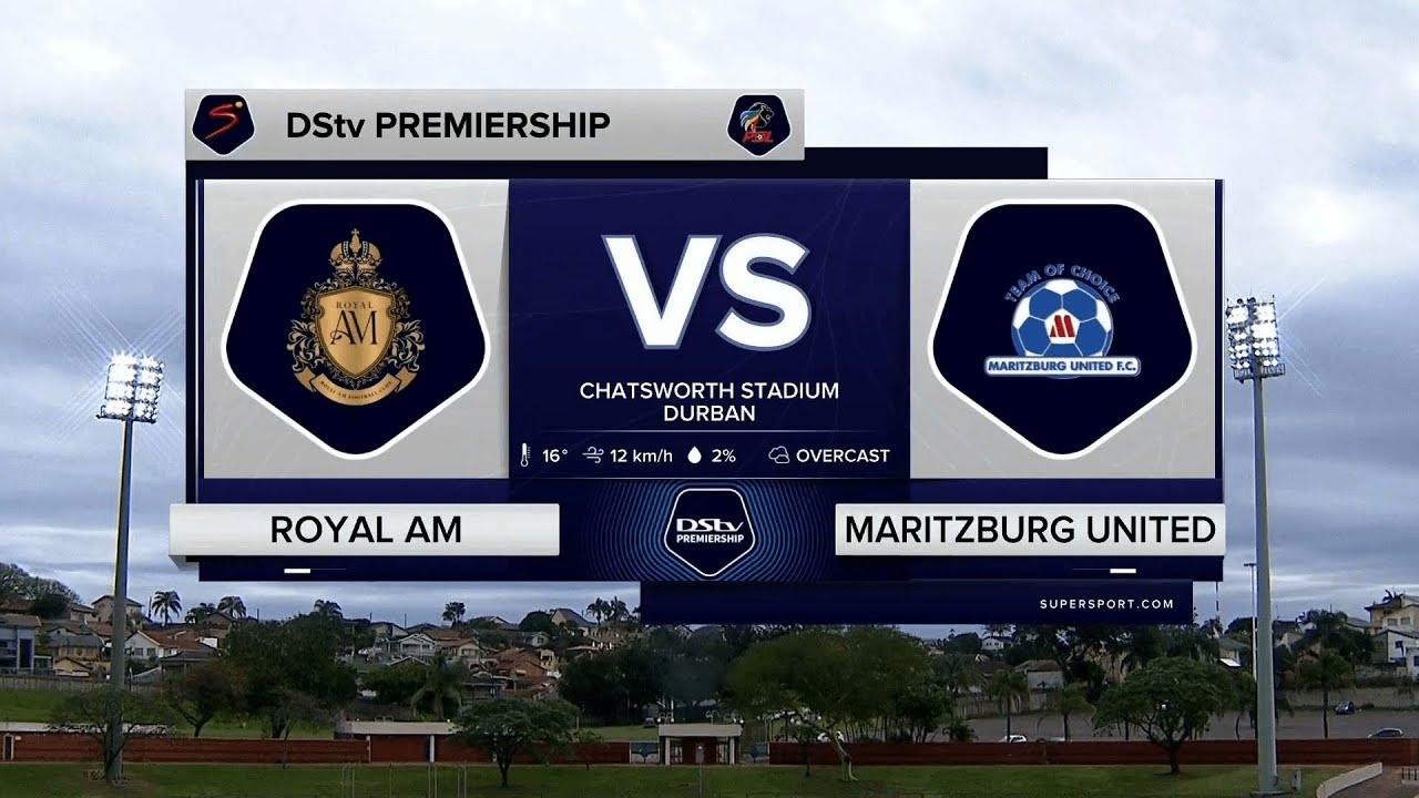 Download DStv Premiership   Royal AM v Maritzburg United   Highlights