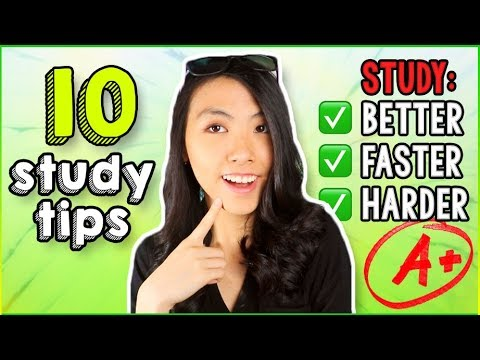 ✏️10 STUDY HACKS That WORK!😱 School Tips for High School, Middle School, and College! | Katie Tracy