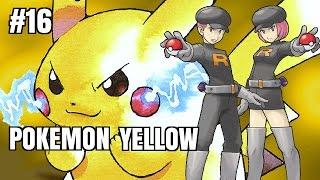 Zagrajmy z Kushim - Pokemon Yellow (odc. #16 - Witaj Prizmanio! Walka z Zespołem R!)