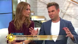 """""""Åttan är värst!"""" Ungdomspanelen om att tackla skolstarten - Nyhetsmorgon (TV4)"""