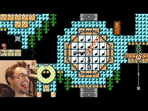 Mario Maker - Ingenious Puzzles by PinkBirdo (and World Records!)