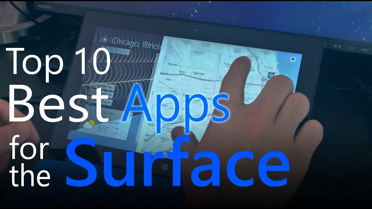 top apps surfacebook