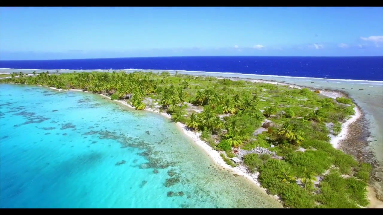 Private island for sale in Manihi - Tuamotu - YouTube