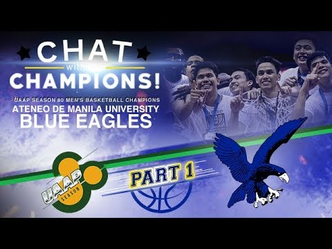 Live Chat with the Ateneo Blue Eagles | UAAP 80 Men's Basketball Champions