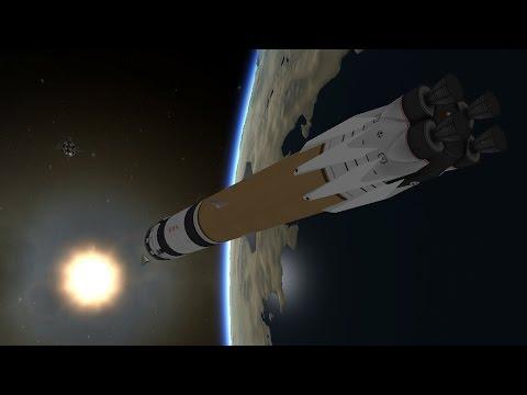 Reusable KSP 28 - Mun Cargo Lander 2.0, LV375 1.0