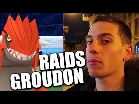 MES PREMIERS RAIDS GROUDON - POKÉMON GO thumbnail