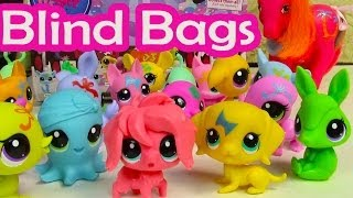 Lps Blind Bag Haul Littlest Pet Shop Party Stylin Pets Box Case Toy Review Opening