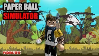Juega Toss-paper roll Plus All code-Roblox Paper Ball Simulator Indonesia