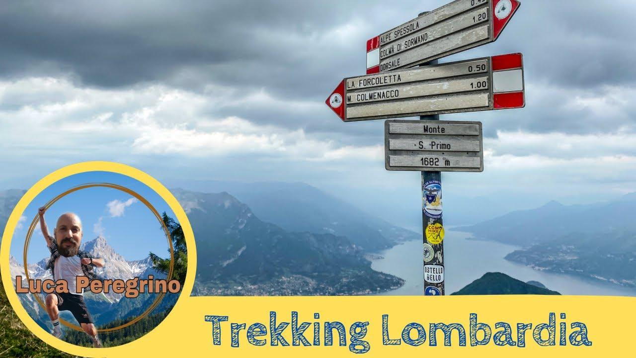 Trekking sul monte San Primo, un balcone sul lago di Como, Lombardia