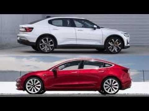2020 Polestar 2 Electric Vehicle – Exterior and Interior Walkaround – 2019 Geneva Motor Show