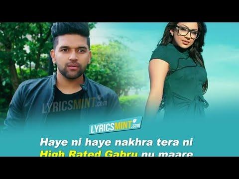 high-rated-gabru-nu-maare---guru-randhawa-|-audio-song-lyrics-with-english