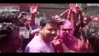 ఎమ్మెల్యే జగ్గారెడ్డి హోలీ డ్యాన్స్ అదిరిపోయింది..చూడండి\Mla Jagga Reddy Holi Super Dance