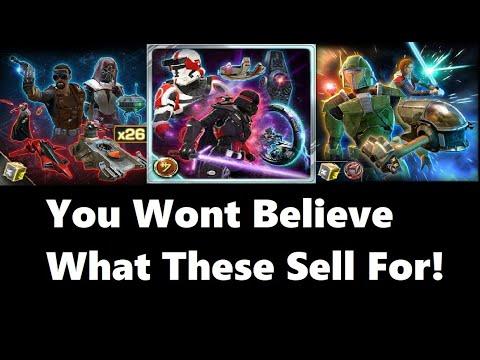 SWTOR: Selling Cartel Packs on the GTN (2018)- INSANE Prices! - YouTube