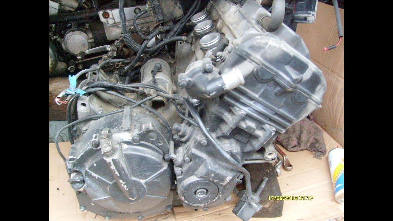 замена мотора на honda cbr 600